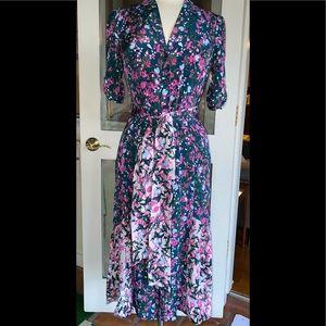 Diane Von Furstenberg Pretty Floral Berries Dress